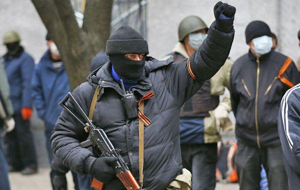 Foco de Tensión. Un activista pro ruso