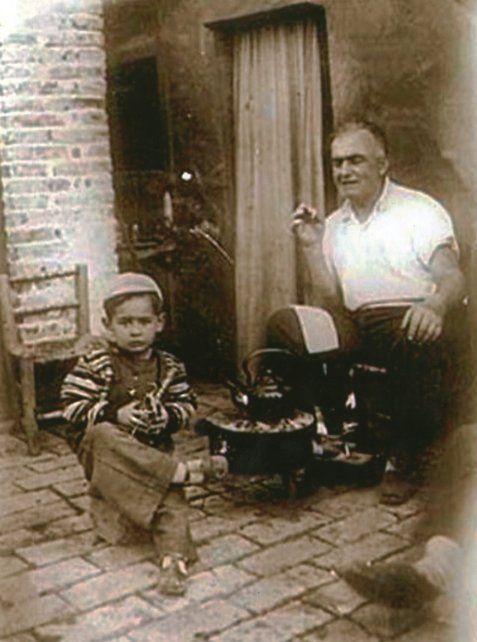 Anton Sahakian, bisabuelo de la autora de la nota, sobrevivió al genocidio armenio.