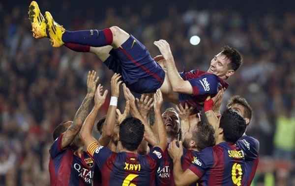 El líder de Barcelona es Messi, se pone al equipo en la espalda en cada partido