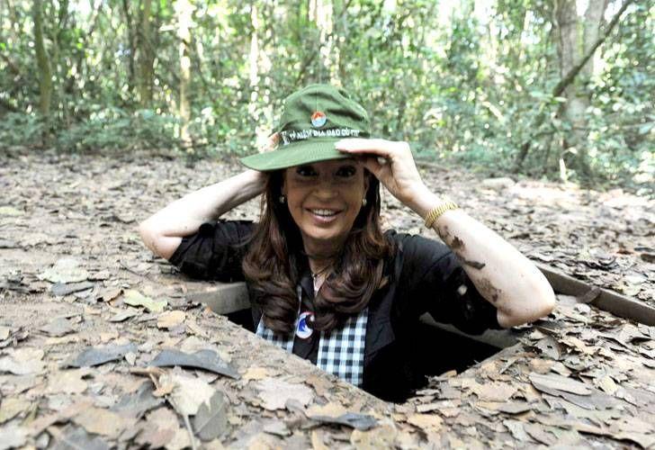 Lanata afirmó que Cristina estuvo dos días en Seychelles tras visitar los túneles de Ho Chi Minh en enero pasado.