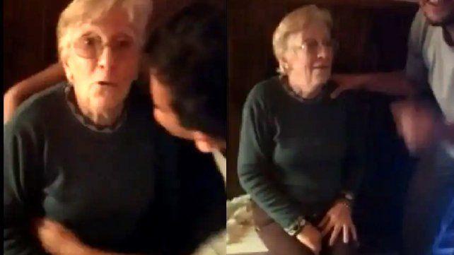 La señora de 90 años no salía de su asombro tras enterrase que había ganado el Quini 6.