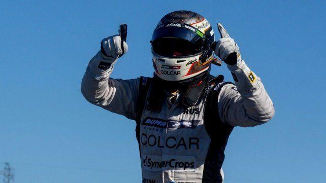 Gastón Mazzacane ya estaba feliz por ser segundo en la carrera del TC en San Juan