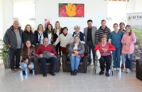 El Trébol inauguró un hogar para personas con discapacidades