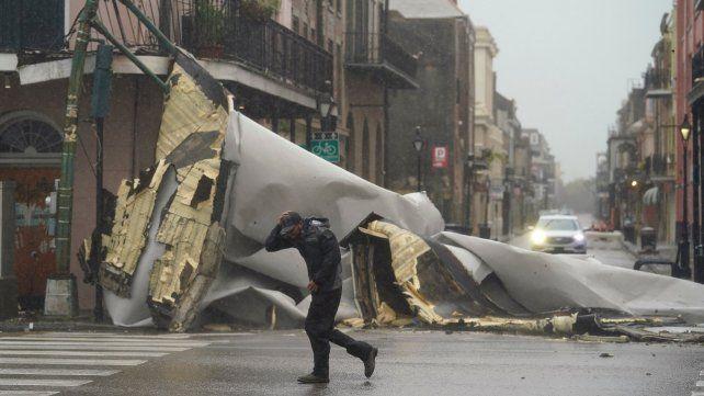 El huracán Ida impactó el Estado de Luisiana con vientos de 230 kilómetros por hora