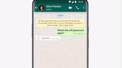 Cómo enviar una foto y un video por WhatsApp que sólo se pueden ver una vez