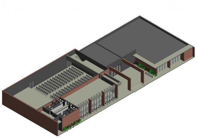 """""""El anteproyecto ya está dibujado e integra a la sala teatral y la biblioteca. Hay que adecuarlo desde lo técnico"""