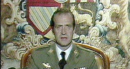 El rey Juan Carlos tenía simpatía hacia los golpistas del 23-F de 1981