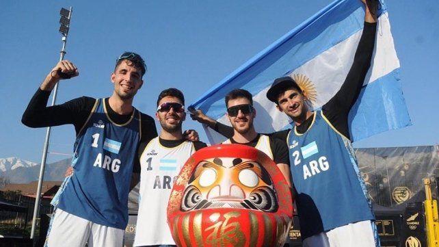 La selección argentina de beach voley está varada en Chile por las restricciones