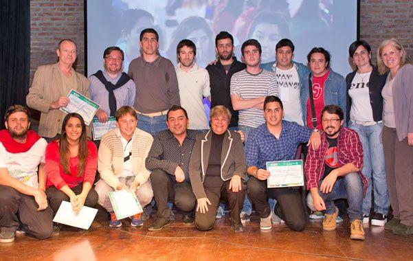 Realizadores. Unos cien alumnos realizaron en total ocho cortometrajes.