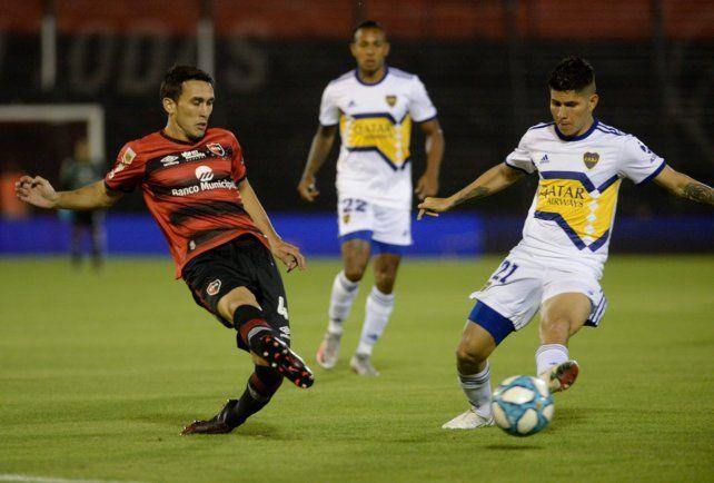 Newells no pudo mantener el ritmo y perdió ante el implacable Boca