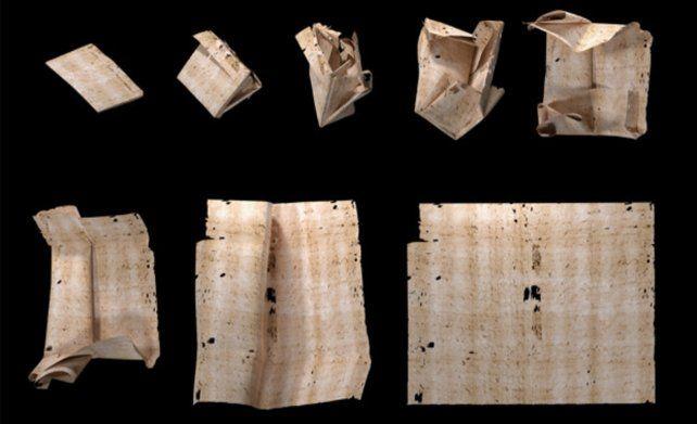 La carta. Fechada el 31 de julio de 1697