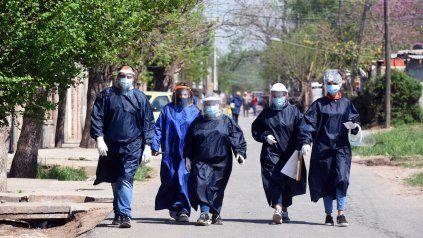 Nueve personas fallecieron por coronavirus en Rosario, que superó las 200 muertes