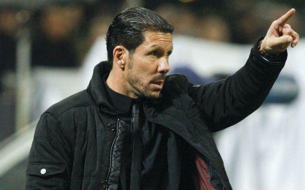 En alza. El Cholo Simeone sigue haciendo una gran campaña al frente del Atlético.