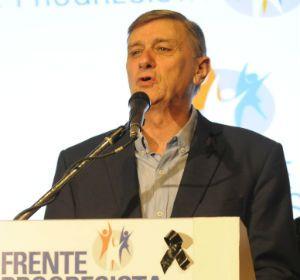 Hermes Binner dijo que el caudal de votantes de Miguel del Sel estaba dentro de lo que se preveía.