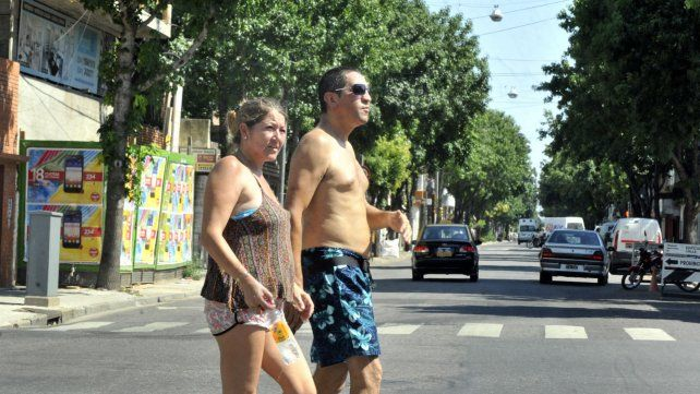 Rosario sigue dominada por el tiempo inestable y las altas temperaturas
