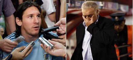 Messi se alegró por la salida de Basile y ya tiene su candidato: Sergio Batista