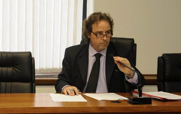 El juez. Javier Beltramone presidió la audiencia imputativa de ayer.