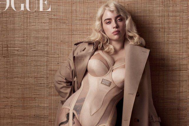 A lo Madonna. Eilish se tiño de rubio y apostó por un cambio de look.