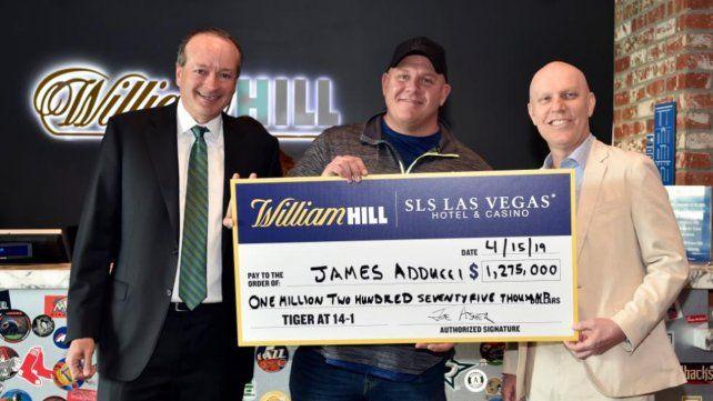 Tuvo una corazonada, apostó por Tiger Woods y ahora es millonario