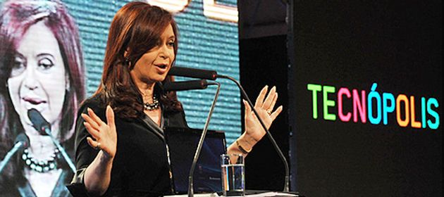 Cristina habló por cadena nacional para dejar inaugurada de forma oficial la muestra Tecnópolis