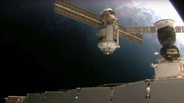 Un incidente modificó la posición de la Estación Espacial Internacional