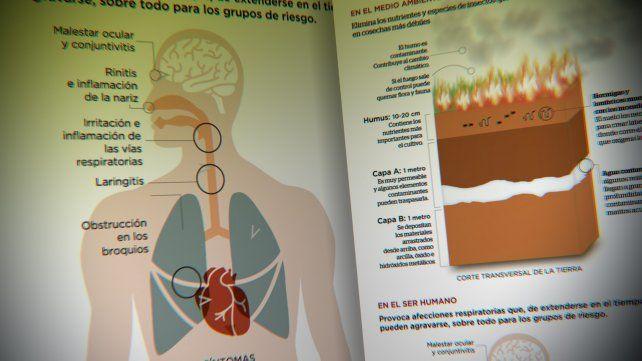 Efectos de las quemas de pastizales