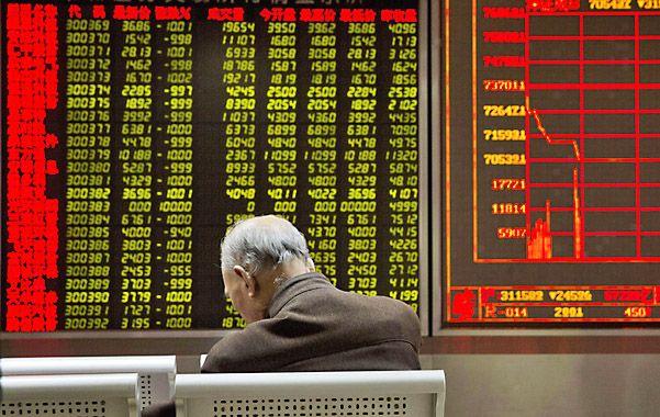 En el tobogan. China comenzó el año con fuertes turbulencias de mercado.