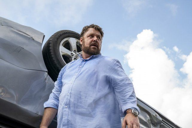 Cine/Crítica de Fuera de control: Russell Crowe te tira toda la carrocería
