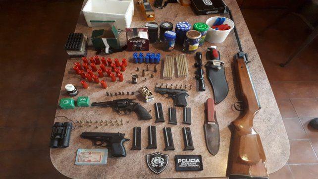 Arsenales. En el primer semestre se secuestraron más de 600 armas.