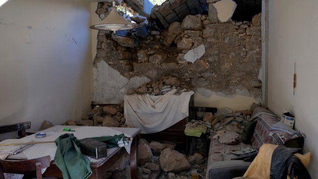 El epicentro del terremoto se registró a 346 kilómetros al sur de Atenas.