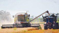 Cosecha. La producción agrícola exhibió altos rindes, de acuerdo a la Guía Estratégica para el Agro.