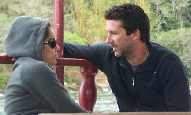 A Fabián Rossi ya se lo había visto con otra mujer en Brasil en 2009.