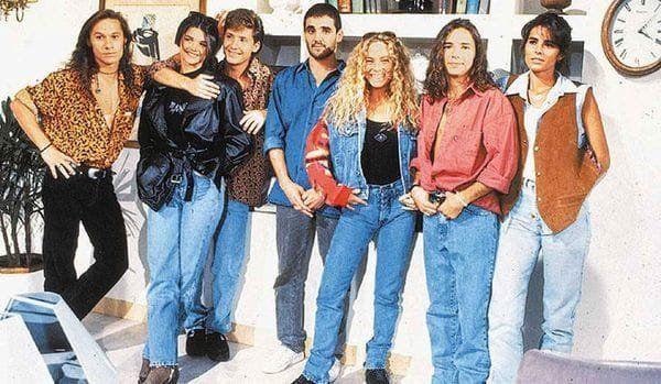 Araceli publicó una antigua foto de La banda del Golden Rocket con sus mejores recuerdos