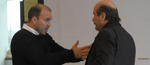 ¿Y ahora? Belloso y Speciale fueron facultados para gestionar la llegada del nuevo entrenador.