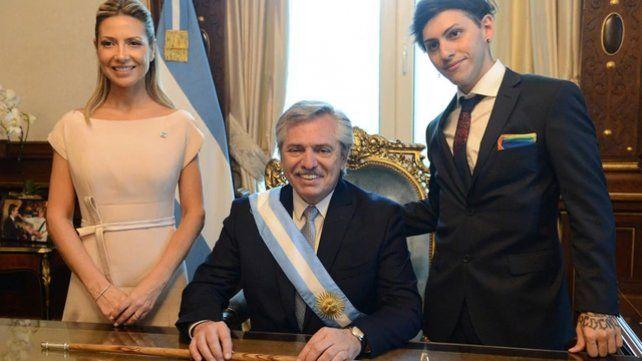 Los primeros minutos de Alberto Fernández en la Casa Rosada