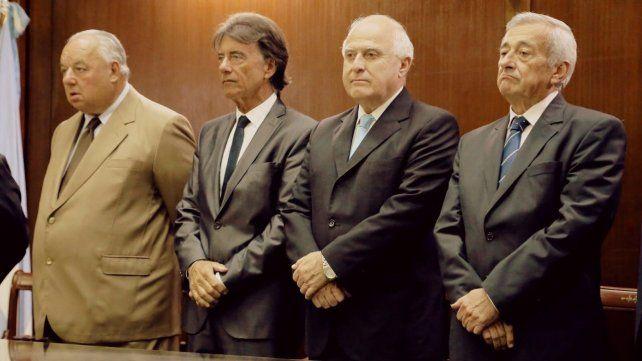 Los camaristas Rafael Gutiérrez