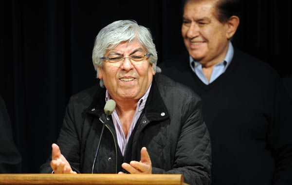 Moyano dijo que pedirá dinero a los empresarios hinchas del club para nutrir así las flacas arcas del club.
