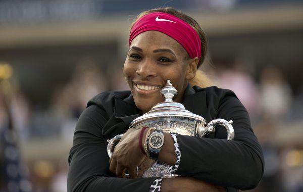 Toda mía. Serena igualó las victorias en los cuatro grandes torneos de sus compatriotas Martina Navratilova y Chris Evert.