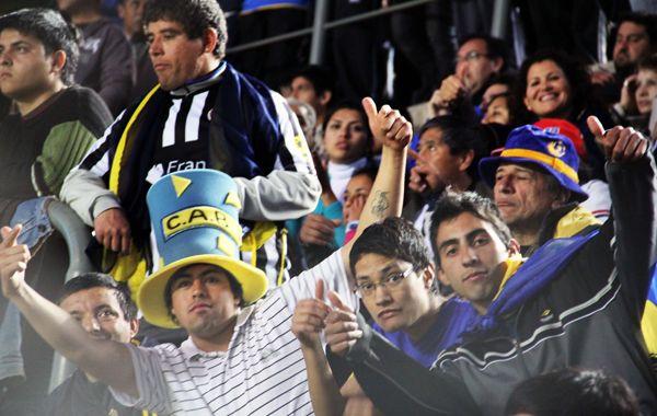 Unos 40 mil espectadores de Racing y Boca estuvieron en el estadio del Bicentenario.