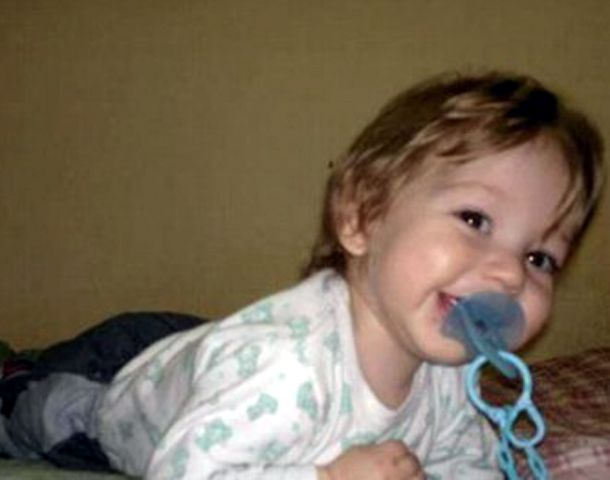 Los familiares recordaron al nene de 2 años que falleció hoy en el Garrahan.