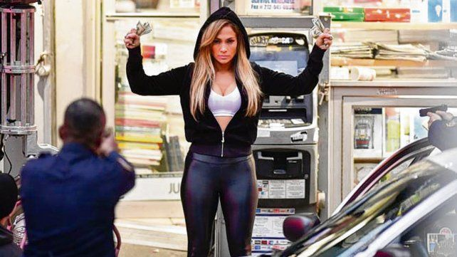 En foco. Lopez interpreta a una stripper condenada.