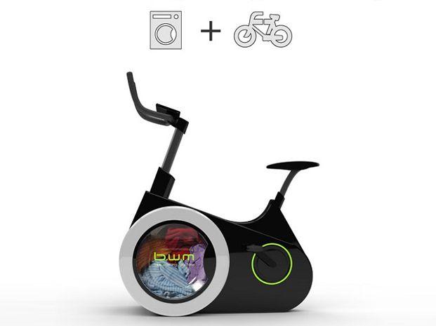 Un lavarropas que funciona al ritmo de una bicicleta fija es la idea de dos estudiantes universitarios chinos.