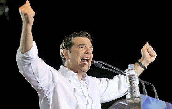 A todo o nada. Alexis Tsipras
