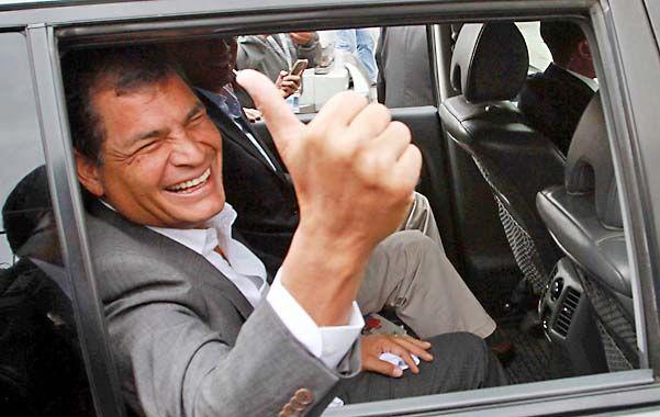Objetivo alcanzado. El presidente Correa tiene en la mira hace años a los medios que critican su gestión.