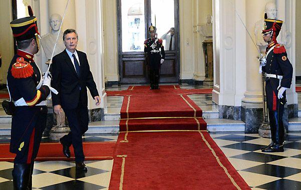 A Casa Rosada. Macri volverá a la actividad oficial tras tomarse vacaciones en Villa la Angostura
