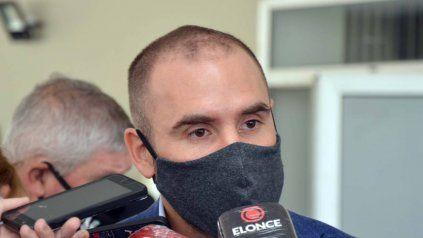 El ministro Martín Guzmán está en Roma, desde donde participó de la reunión de gabinete de manera virtual.