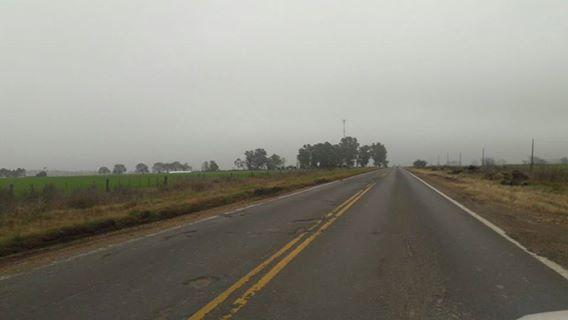 SIN bacheo. La antigua traza de la Ruta Nacional 9 muestra un deterioro determinante de muchas colisiones.