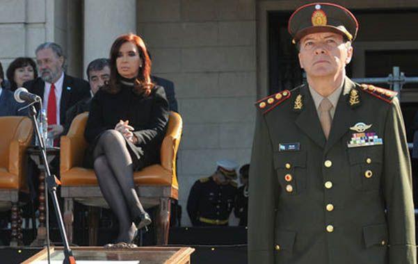 Respaldo. La semana pasada el kirchnerismo logró imponer en el Senado el ascenso de César Milani.