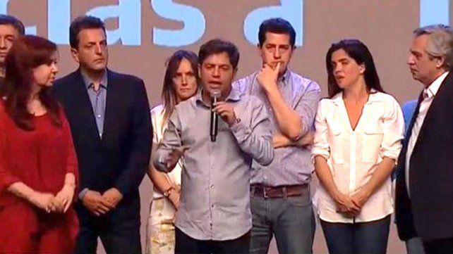 Kicillof arrasó y será el nuevo gobernador de Buenos Aires