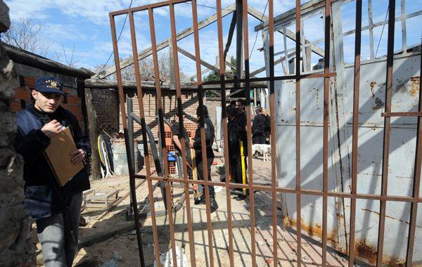 La casa de La Florida donde en agosto de 2011 hallaron sepultado el cuerpo de Rocío